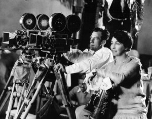 Lois Weber behind the camera